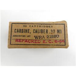 .30 MI CARBINE AMMO