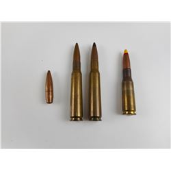 50 CAL AMMO, INCLUDING 50 CAL. SPOTTER,  BULLET