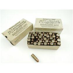 WINCHESTER 9MM PARA AMMO FOR SUB-MACHINE GUNS