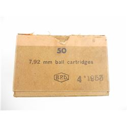 7.92MM BALL AMMO