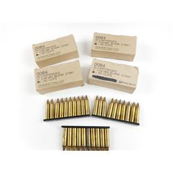 5.56 MM BLANKS ON STRIPPER CLIPS