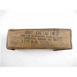 U.S. MILITARY 45 ACP SHOT AMMO