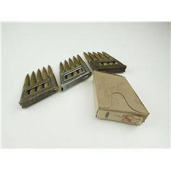 8MM PATRONEN MANNLICHER  AMMO ON STRIPPER CLIPS