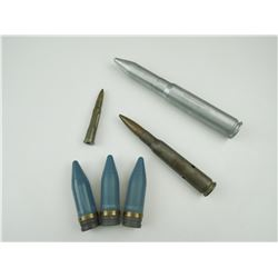 20MM DUMMY, 20MM BULLETS, .303 DUMMY, .50MM DUMMY