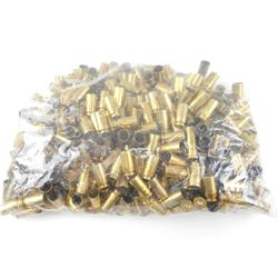40 SMITH & WESSON BRASS CASES, CLEANED