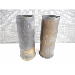 CANADIAN MILITARY 76MM BRASS CASINGS