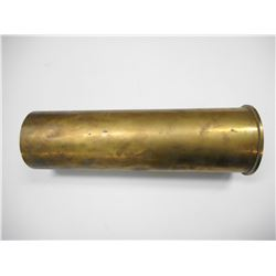 BRITISH 105MM BRASS SHELL CASING, M14, RLB, LOT21, 1970 BROADARROW