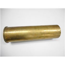 BRITISH 105 MM BRASS SHELL CASE, M14, RLB, LOT 1, 1964 BROAD ARROW
