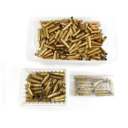 35 REM, 30 REM, 8 X 50 R LEBEL ASSORTED BRASS CASES