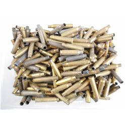 BRASS CASES ASSORTED, INCLUDING 30-06 SPRG, 308 WIN, 303 BRITISH