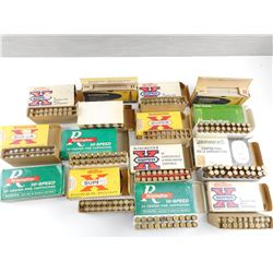 243 WIN ASSORTED BRASS CASES