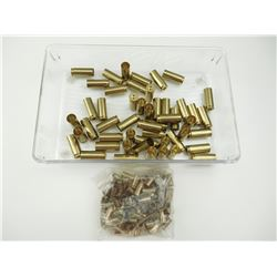 PISTOL BRASS, INCLUDING 45 WIN MAG, 25 AUTO