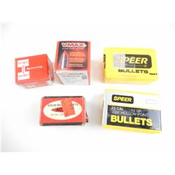 22 CAL ASSORTED BULLETS