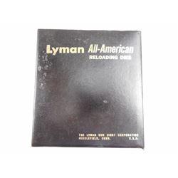 LYMAN 6MM REM RELOADING DIES