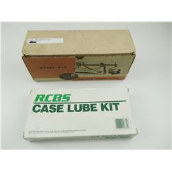 LYMAN PRECISION LOADING SCALE, RCBS CASE LUBE KIT