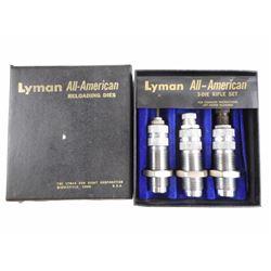 LYMAN 308 WIN RELOADING DIES