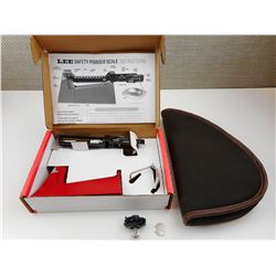 LEE SAFETY POWER SCALE, HAND GUN SOFT CASE