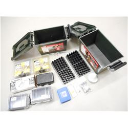 MTM SHOTSHELL DRY BOXES, MAGNIFYING GLASS, CLEANING KIT, ACCESSORIES