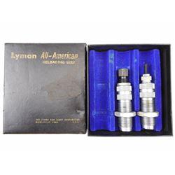 LYMAN 250 SAVAGE RELOADING DIES