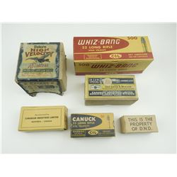 COLLECTOR AMMO BOXES
