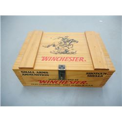 WINCHESTER SMALL ARMS WOODEN AMMO CRATE