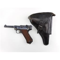 WWI ERA, LUGER , MODEL: P08 MAUFACTURED BY DWM , CALIBER: 9MM LUGER