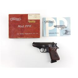 WALTHER , MODEL: PPK  , CALIBER: 7.65MM