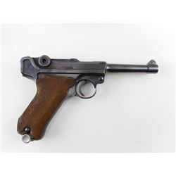 WWII ERA, LUGER  , MODEL: P08   , CALIBER: 9MM LUGER