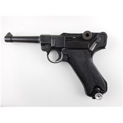 WWII ERA, PORTUGUESE CONTRACT LUGER , MODEL: P08 , CALIBER: 9MM LUGER