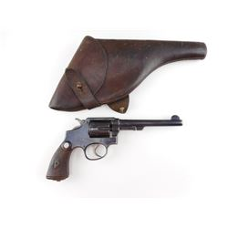 WWII ERA, SMITH & WESSON , MODEL: 1905 4TH CHANGE  , CALIBER: 38 S &W