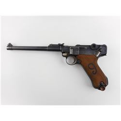 WWI ERA, LUGER , MODEL: 1914 ARTILLARY  , CALIBER: 9MM LUGER
