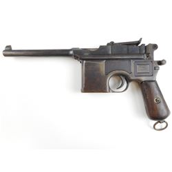 MAUSER , MODEL: C96 BROOMHANDLE  , CALIBER: 7.63 MAUSER