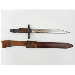 ROSS RIFLE 1907/1910 MKII BAYONET WITH SCABBARD