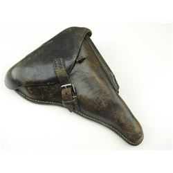 WWII GERMAN P08 LEATHER HOLSTER