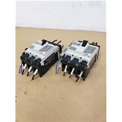 (2) FUJI ELECTRIC SA53RCUL CIRCUIT BREAKER
