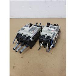 (2) FUJI ELECTRIC SA53RCUL & SA52RCUL CIRCUIT BREAKER