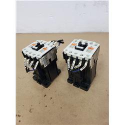 (2) Fuji Electric 4GC0H0 SC-5-1/G Contactor