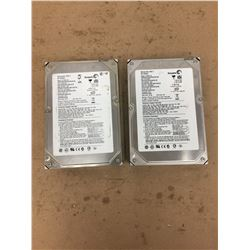 (2) Seagate Barracuda 7200.7 ** see pics for description **