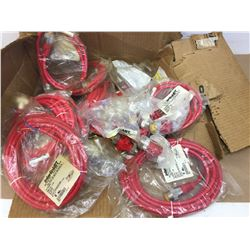 Lot of 11 interlinkBT Cable sets w/ lot of 18 interlinkBT adapters **see pics for description**