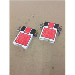 (2) Banner Machine Safety Relay GM-FA-10J-70969