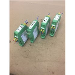 (4) Phoenix Contact Transducer ** see pics for part number **