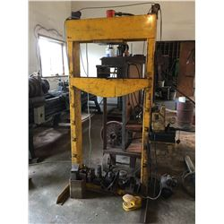 25 TON HYDRAULIC SHOP PRESS