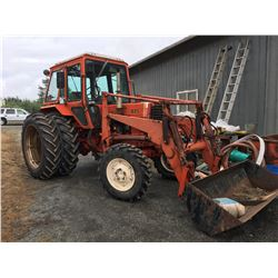 1982 BELARUS 825 4 WHEEL DRIVE WITH  LOADER 80HP TRACTOR (4896 HRS)