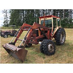 BELARUS 420 4 WHEEL DRIVE 55HP TRACTOR WITH FRONT-END LOADER