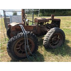 MASSEY HARRIS GENERAL PURPOSE TRACTOR DATES 1930-36