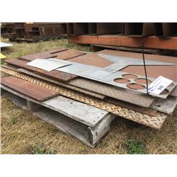 PALLET OF ASSORTED STEEL SHEET