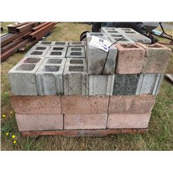 PALLET LOT OF CINDER & CEMENT BLOCKS