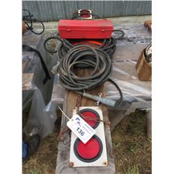 EQUIPMENT LIGHT BAR, AIR HOSE & ROAD SIDE REFLECTOR SET