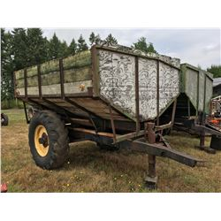 CURL BULK BOX FARM TRAILER 10'