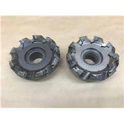 (2) MITSUBISHI BE545R0509E INDEXABLE FACE MILL